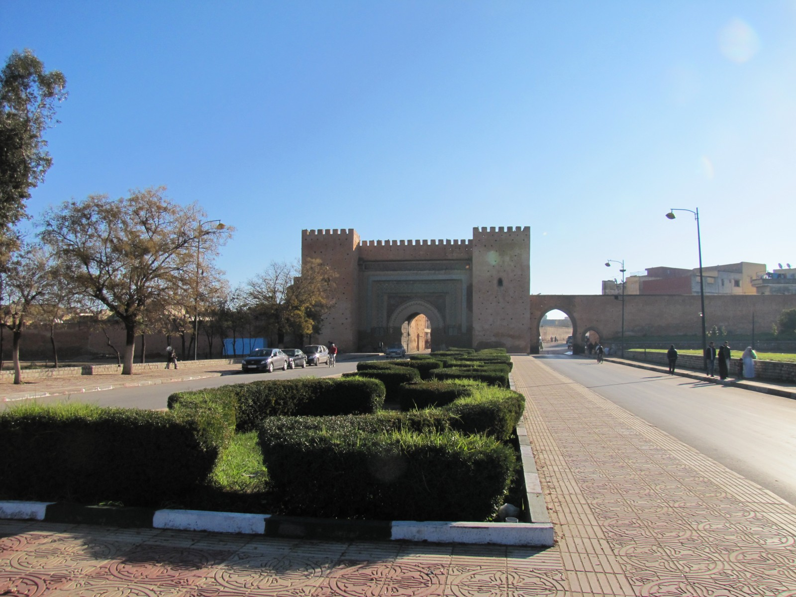 Meknes Morocco  City new picture : Bab el Khemis Gate in Meknes, Morocco