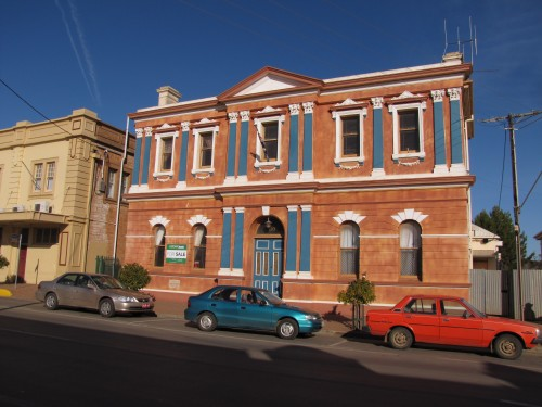 Old Town Hall in Peterborough, South Australia