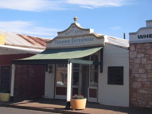 The Terowie Enterprise  building today