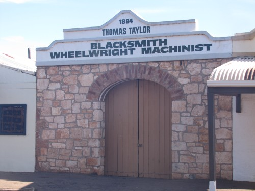 Old blacksmith at Terowie, South Australia