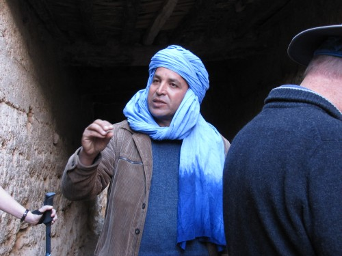 Our guide, Said, in Morocco
