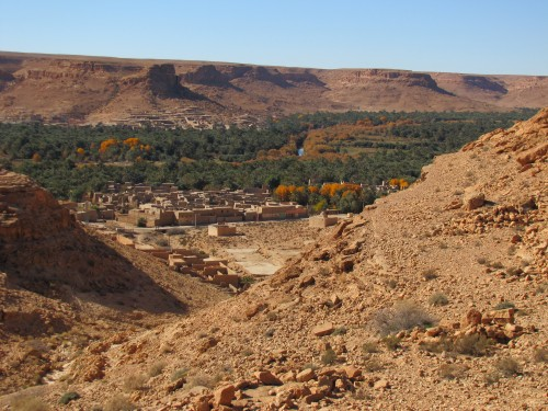 River Ziz Gorge Morocco