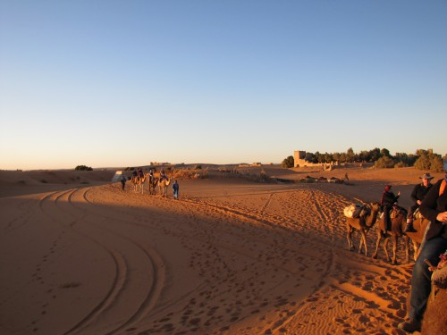 Christmas Eve in the Sahara