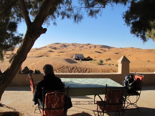 Breakfast in the Sahara